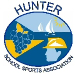 Hunter School Sports Association logo